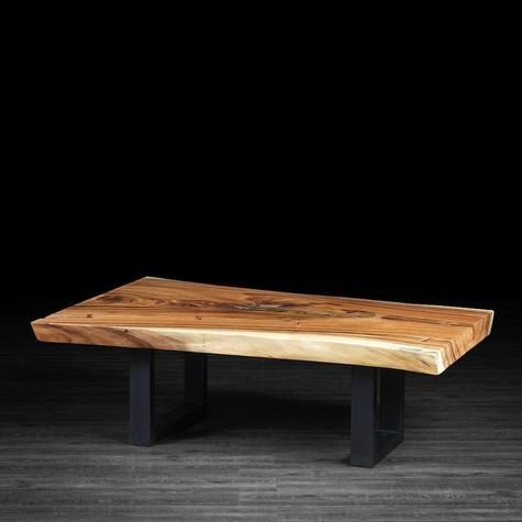 Live edge freeform coffee table made of a slab of by artemanodotca lake house Live wood coffee table