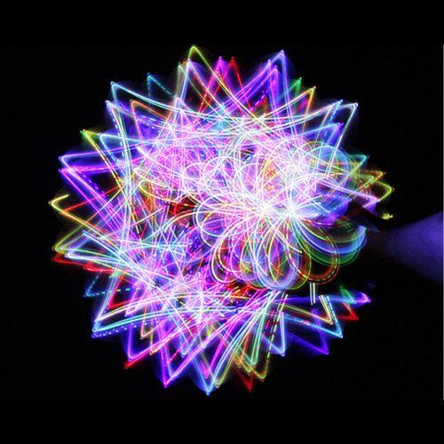 Rainbow 4 Light LED Orbit Orbital Rave Light Toy by OrbitLightShow, $14.95