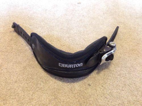 Burton-Custom-Snowboard-binding-Left-Ankle-Strap-Small-Black