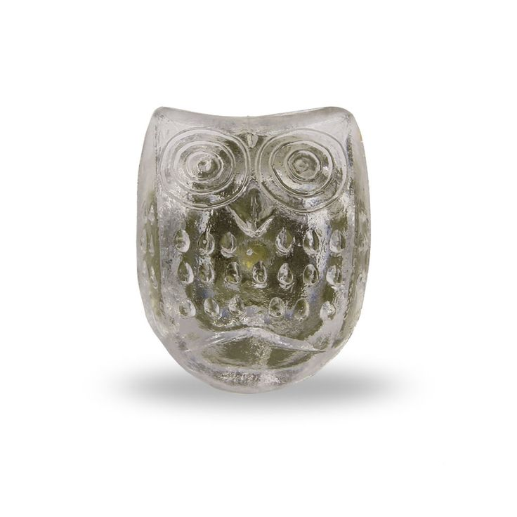 whimsical owl decorative furniture knob clear knob for a dresser drawer kitchen cabinet or cupboard modern home decor door pull or handle
