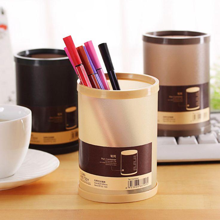 Lucu Kawaii Plastik Pensil Pemegang Pena Kreatif Transparan Berdiri Untuk Anak-anak Kantor Perlengkapan Sekolah Gratis Pengiriman 1133