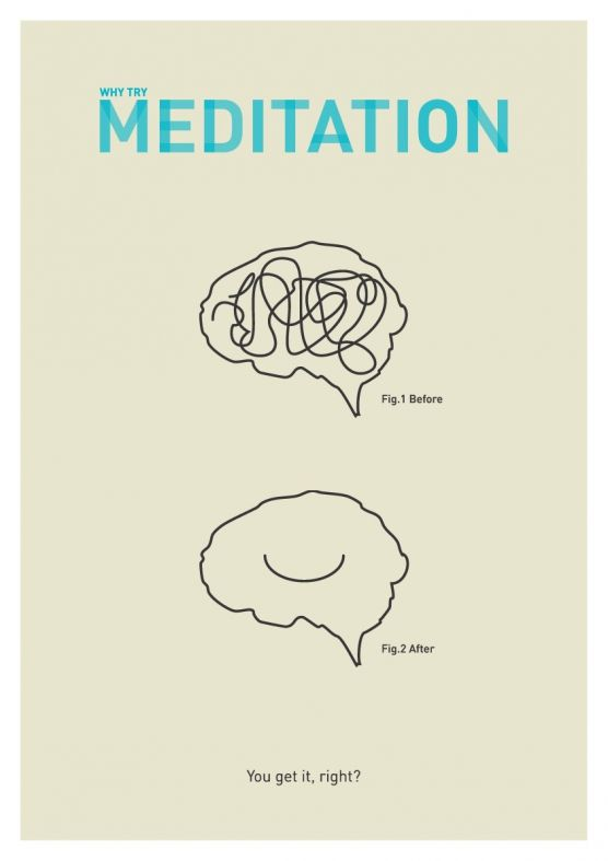 The simple reason to meditate.