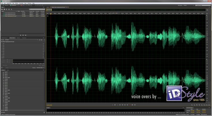 Voice Overs Did you know we can even supply a voice over as an MP3 to use on everything from your phone system to your answering machine or mobile voice mail?  www,iDStyle.com