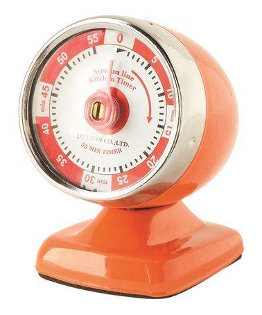 Another great find on #zulily! Orange Streamline Timer #zulilyfinds