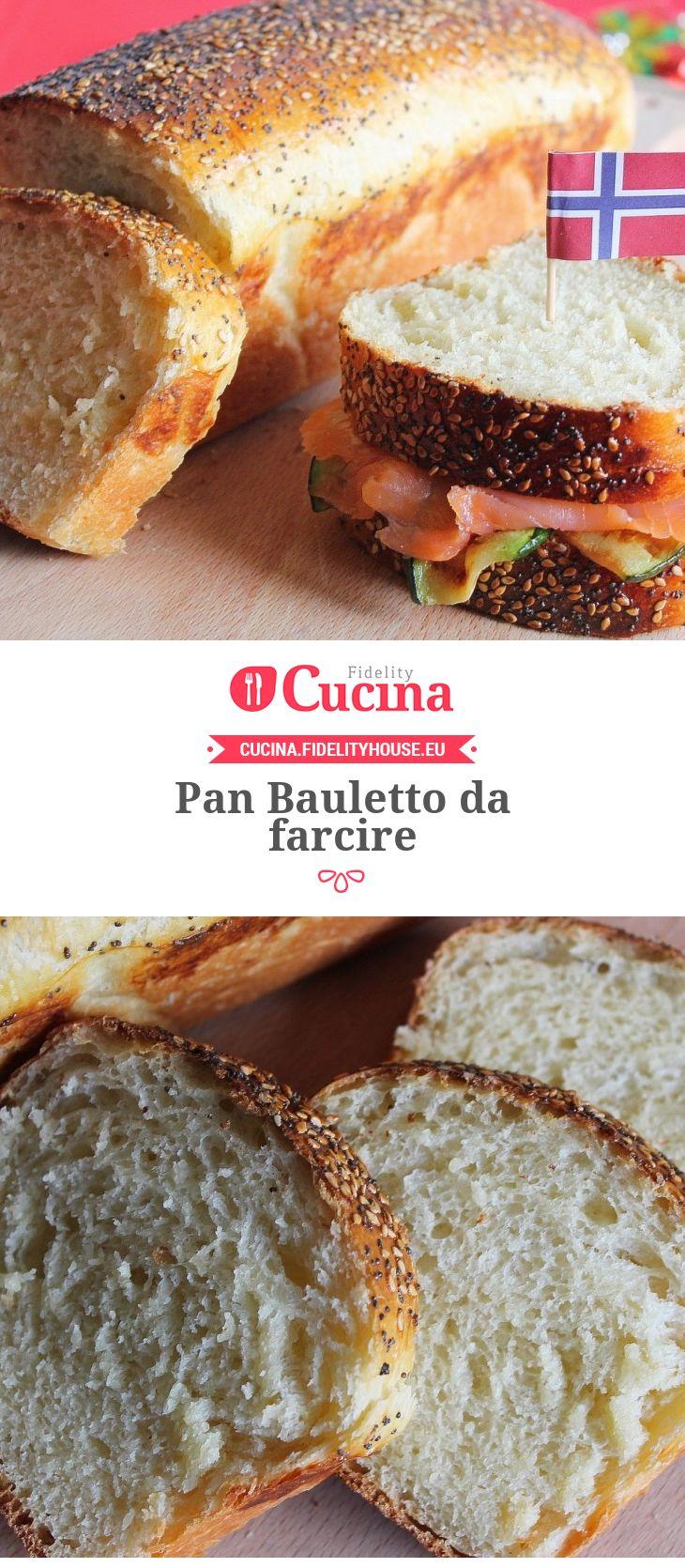 Pan Bauletto da farcire. Una ricetta della nostra utente Giovanna, entra anche tu nella #Community ed inviaci le tue ricette > bit.ly/1LiPYiP
