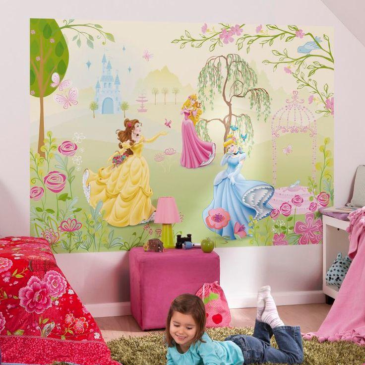Disney princess room setting for girl bedroom decor for Disney princess bedroom ideas