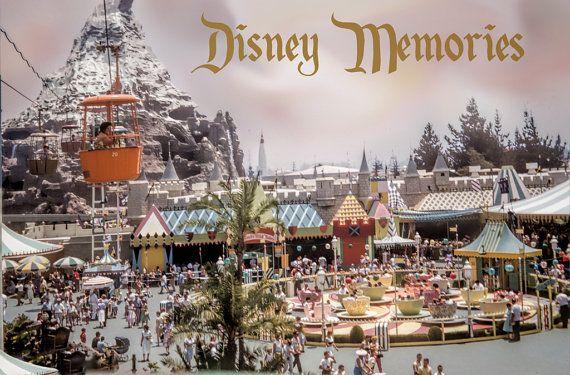 Vintage 1961 Disneyland Image Fantasyland from by eeBeeVintage