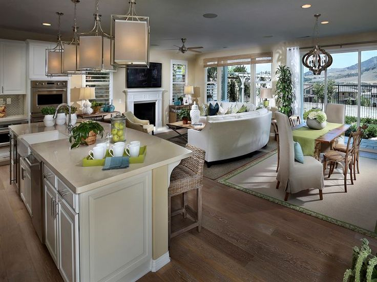 The Model Home That We Fell In Love With Steven Likes Modern Pendant Lights Natural Wood Floors