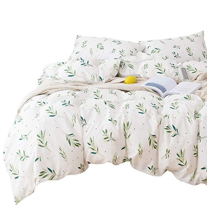 Wake In Cloud Tree Leaves Duvet Cover Set 100 Cotton Bedding