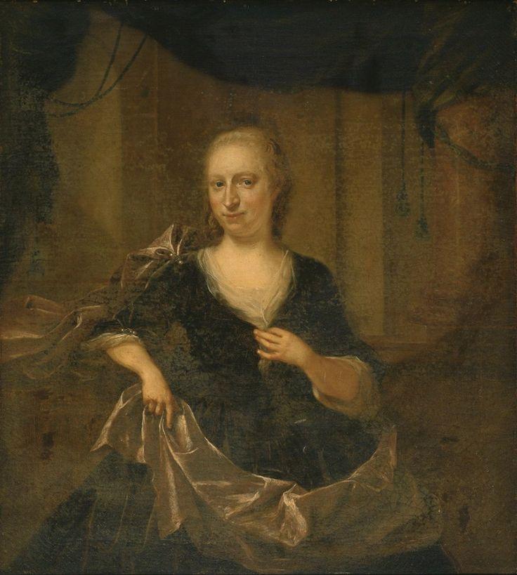 Quinkhard, Jan Maurits - Портрет Adriana Aletta Storm van `s Gravensande, 1744, Холст, масло Музей Франса Халса в Харлеме