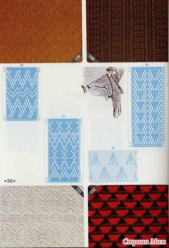 knitting pattern II TOYOTA Tuck 5