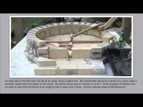 Detailed How to Build an Authentic Pompeii Pizza Oven, Part 2 of 4 ~ Building the DOME! - YouTube