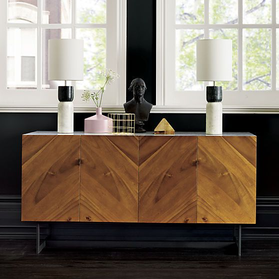 suspend media console in storage | CB2