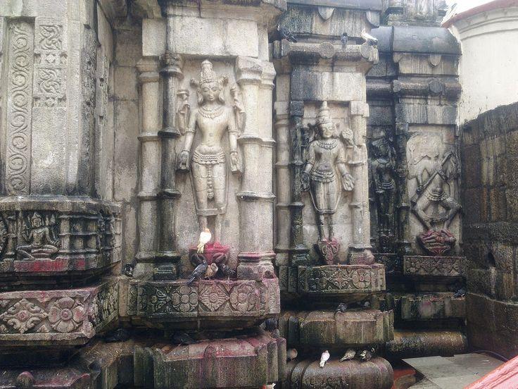 stone sculpture of 64 yoginis, in Kamakhya Temple