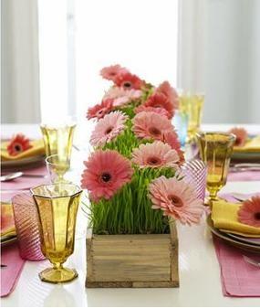 7 frugal springtime table ideas