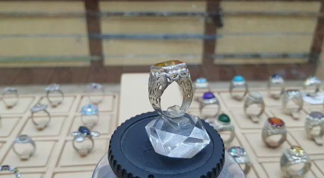 اجمل الخواتم الايرانية فيروز مجوهرات فاخرة خاتم مميز طبيعي100 Turquoise للعرض Gemstone Jewelry Gemstones Turquoise Ring