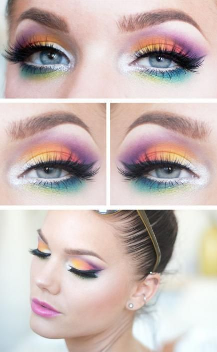 Festival Eye Makeup Ideas | Divine Caroline