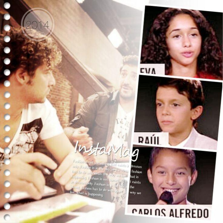 Equipo Bisbal La Voz Kids España 2014