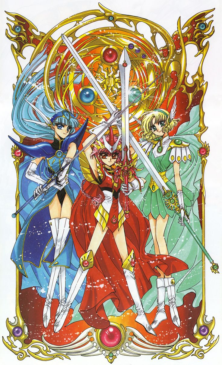 Magic Knight Rayearth (1994)