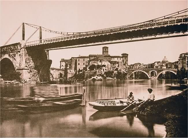 ponte rotto ancora utilizzato nel1835