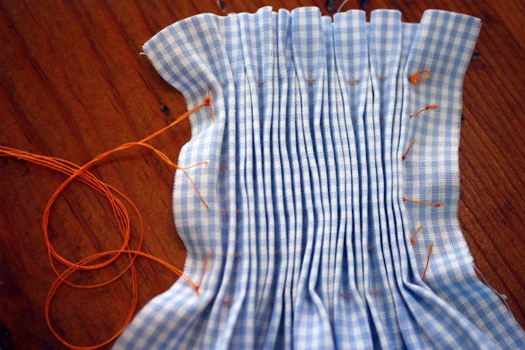 Before pleaters for smocking became popular in the mid 1980's, we pleated the fabric by hand.Since recent changes in the sewing industry have made pleaters harder to find, it is time to look back at