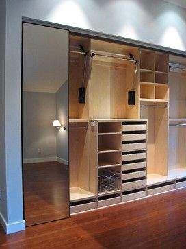 Here we go - this is what a wall of closets should look like.