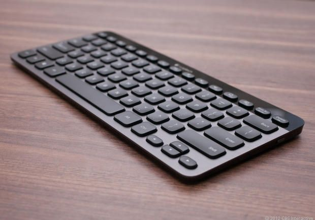 Logitech Bluetooth Illuminated Keyboard K810. A stylish, backlit keyboard with one-touch easy switching between your PC, tablet, and smartphone!