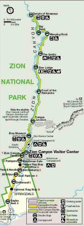 Zion Shuttle | Zion National Park | US Park Lodging