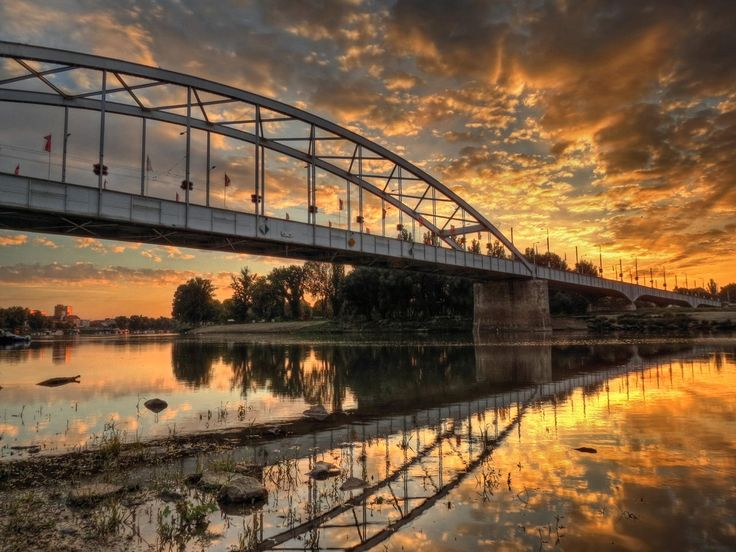 Tisza River Sunrise by Károly Vass on 500px