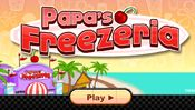 Papa's Freezeria - You've just started an easy job at an ice cream shop on a laidback tropical island, but things get hectic when all of Papa Louie's loyal customers arrive on the island for vacation! In this new installment in Papa Louie's restaurant series, you'll need to add ingredients, blend syrups and ice cream, add toppings, and serve the unique Freezeria Sundaes to your waiting customers. This latest game features dozens of syrups, candies, and toppings that unlock as you play, and a…