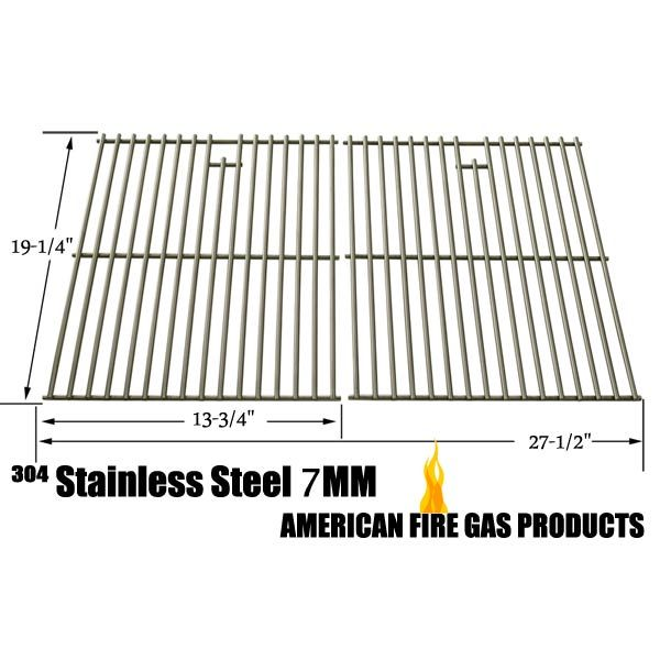 2 PACK STAINLESS STEEL COOKING GRID REPLACEMENT FOR ALFRESCO AGBQ-56-LP, HENDERSON SRGG41009, NEXGRILL 720-0677, PRESIDENTS CHOICE 09011042PC, SHINERICH SRGG41009 AND SONOMA PF30LP GAS GRILL MODELS Fits Compatible Alfresco Models : AGBQ-42SZ-LP, AGBQ-42SZ-NG, AGBQ-42SZC-LP, AGBQ-42SZC-NG, AGBQ-56-LP, AGBQ-56BFG-LP, AGBQ-56BFG-NG, AGBQ-56BFGC-LP Read More @http://www.grillpartszone.com/shopexd.asp?id=34735&sid=37319