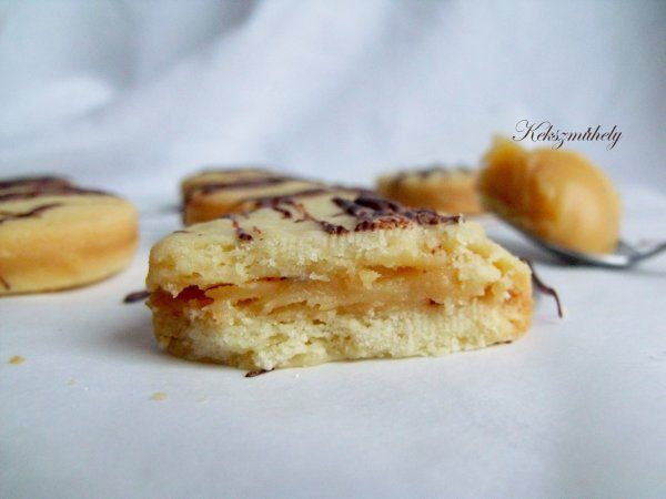 mézkaramell keksz