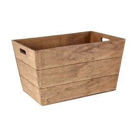 Tapered Wooden Box