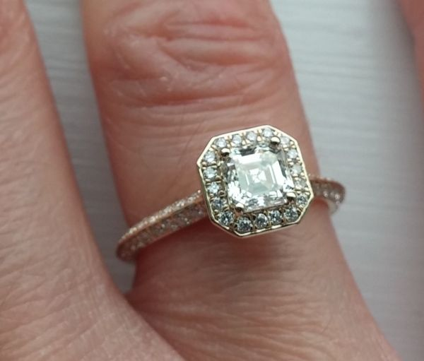 Customer S Photo On Weddingbee James Allen 14k Yellow Gold