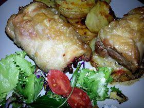 Muslos de pollo rellenas ...
