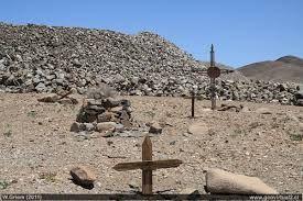Cementerio de la mina Buena Esperanza, distrito Chimbero - Atacama, Chile