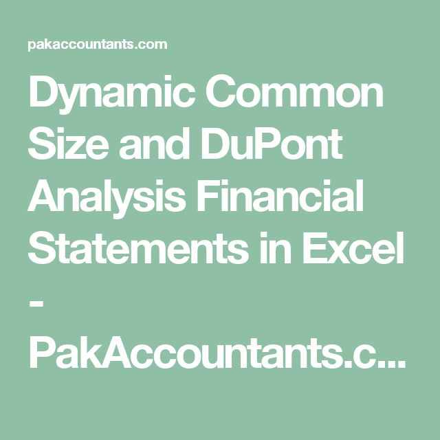 Best 25+ Dupont Analysis Ideas On Pinterest Fle, French Grammar   Income  Statement Microsoft  Income Statement Microsoft