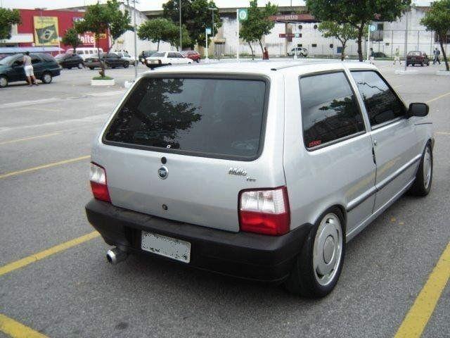 Fotos de Fiat Uno tunado , Uno rebaixado, molas esportivas, aro 14, 15, 16 ... Foto de Uno Way socado, sem molas, suspensão r...