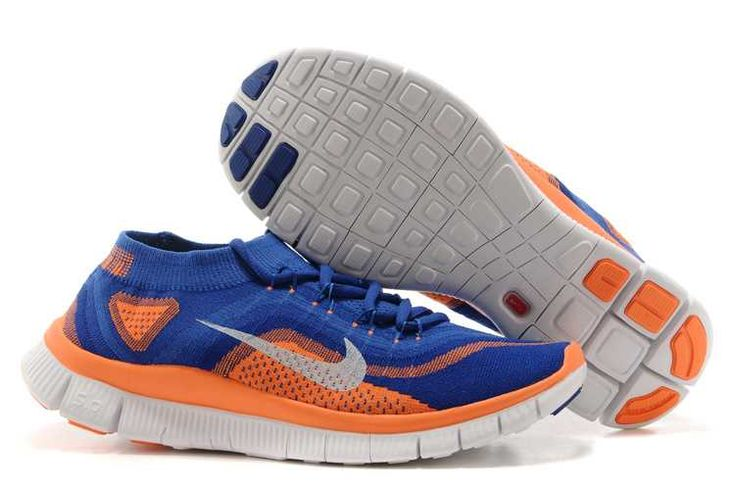 https://www.sportskorbilligt.se/  1767 : Nike Free Flyknit  Herr Royal Blå Orange Vit SE947054nZXLqmgH