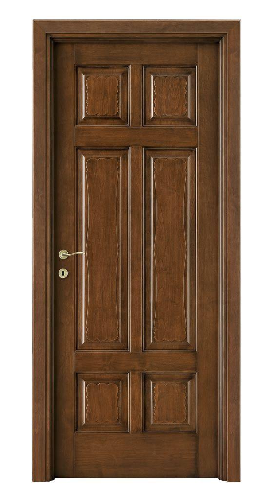 Swing door / solid wood / interior - FORMELLE - legnoform srl