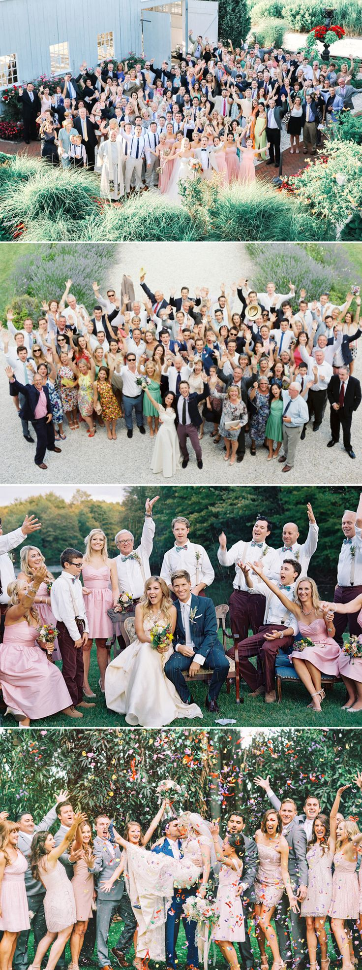 50 Must-See Creative and Fun Wedding Day Group Photos!