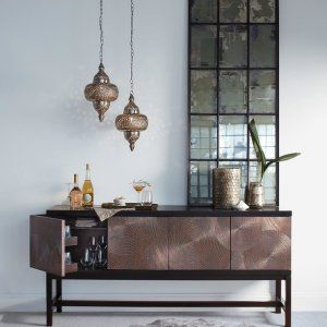 Here's a sneak peek of how the evening will go. Mix copper, brass and iron to create an eclectic home cocktail. #winewednesday #homebar #cheers . . . . . #interiordesign #interiorinspo #roominspiration #instahome #lightinggoals #lighting #mixingelements #bar