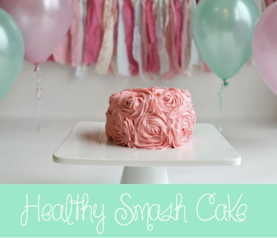 A healthy smash cake option for your baby. Sugar-free carrot cake with a  cream cheese frosting dyed naturally with fruit. modhomemaker.com