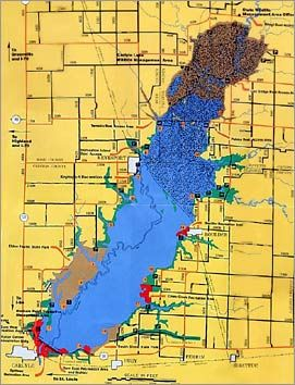 17 best images about gone fishing on pinterest lakes for Fishing lakes in illinois