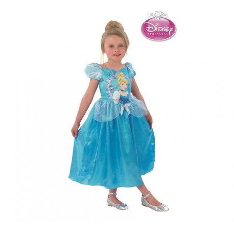 Haz volar su imaginación con este disfraz de cenicienta infantil uno de los cuentos más exitosos de disney que nunca pasará de moda.  Incluye: Vestido completo. http://www.disfracessimon.com/disfraces-princesas-principes-infantil/4076-disfraz-cenicienta-disney.html