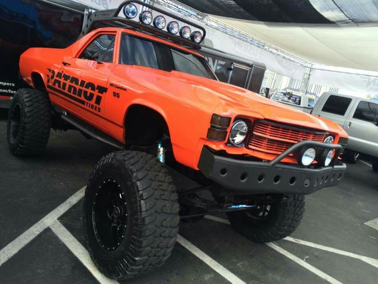 Lifted El Camino