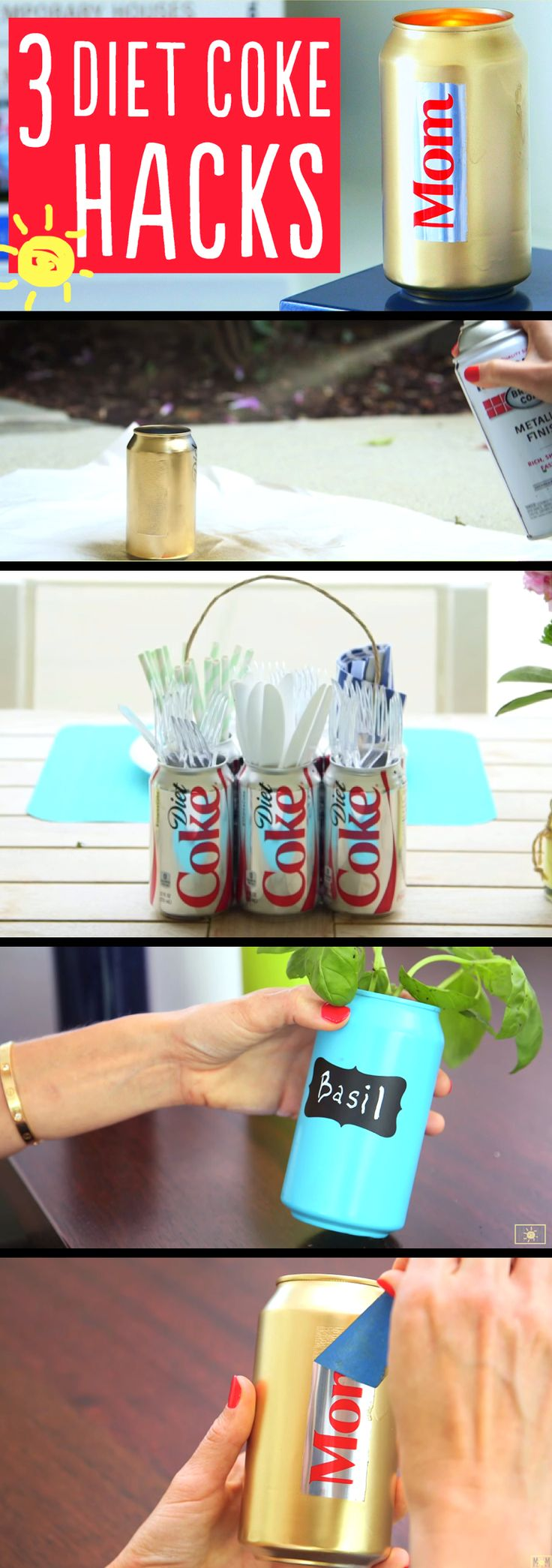 This Mom Turned Soda Cans Into Fun Summer Ideas!