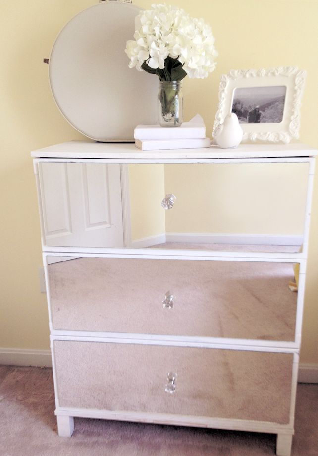 95 best diy mirrored furniture images on pinterest