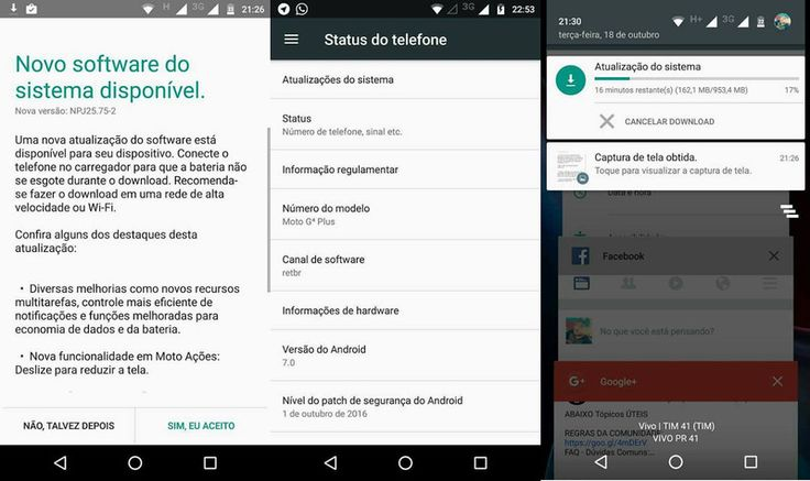 Motorola published the list of devices that will be updated to Nougat earlier this month stating that the Moto G4 and the Moto Z would receive the update first. The company is now kicking off the Nougat soak test for the Moto G4 Plus in Brazil with the update coming in at 953MB.  The screenshots show the phone making the switch to Android 7.0 along with the October security patch. Nougat introduces several interesting features including a multi-window mode improvements to Doze quick replies…