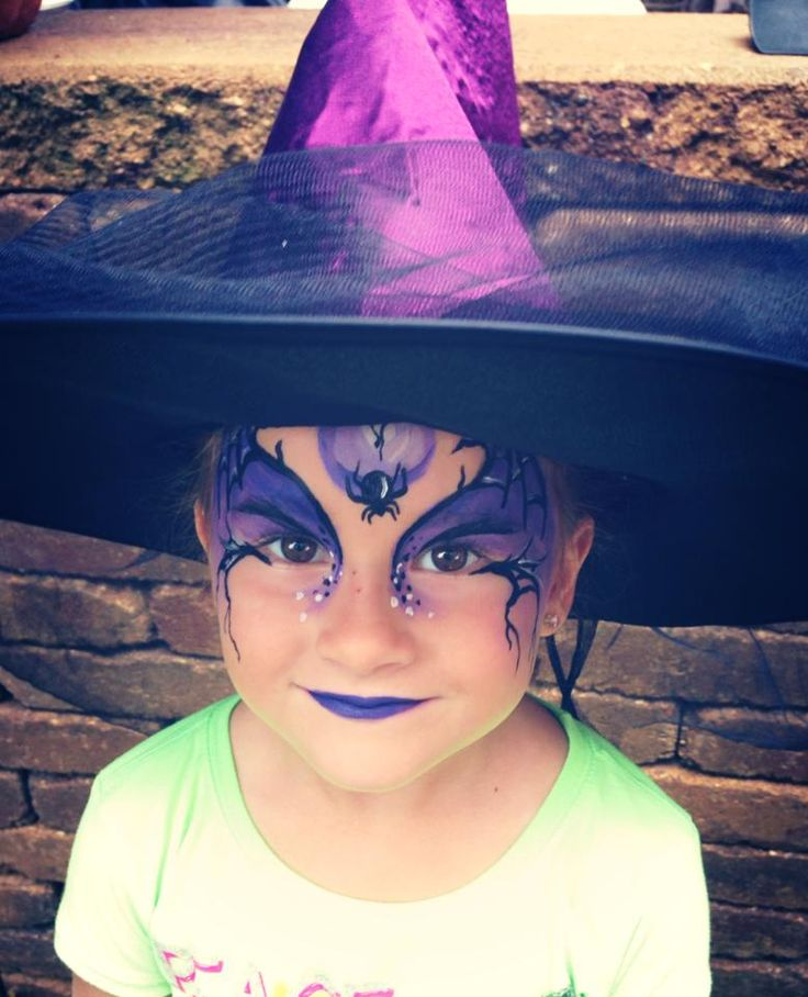 Witches Face Painting Pinterest